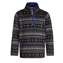 Buy John Lewis Boy Fairisle Zip Fleece Online at johnlewis.com