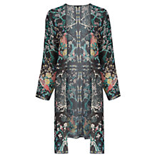 Buy Warehouse Oriental Print Kimono Jacket, Multi Online at johnlewis.com