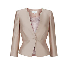 Buy Hobbs Palace Jacket, Pearl Pink Online at johnlewis.com