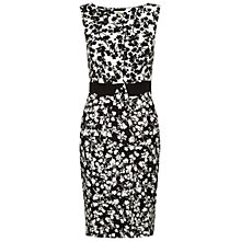 Buy Hobbs Olivia Dress, Navy/Ivory Online at johnlewis.com