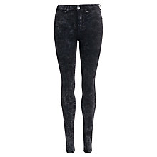 Buy Dr Denim Plenty Skinny Jeans, Black Ice Online at johnlewis.com