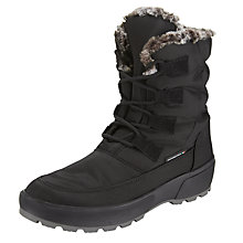 Buy John Lewis Antartica 2 Snow Boots, Black Online at johnlewis.com
