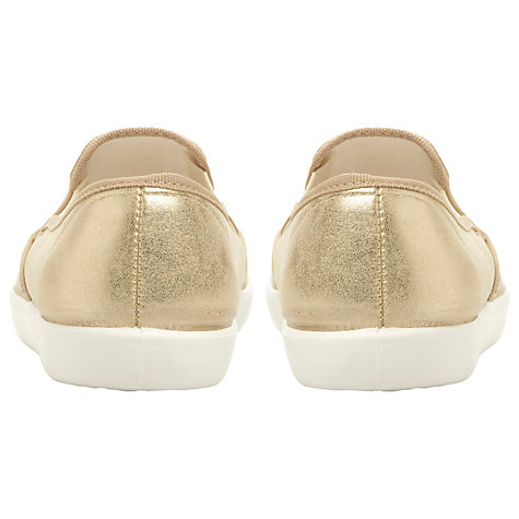 Buy Dune Leeson Trainers, Champagne Online at johnlewis.com