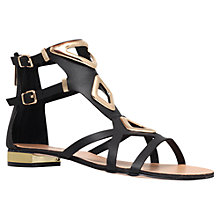 Buy Carvela Metal Detail Cut Out Sandals Online at johnlewis.com