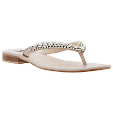 Buy Dune Kiki Embellished Sandals Online at johnlewis.com