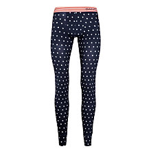 Buy Gant Star Pattern Long Johns, Navy Online at johnlewis.com