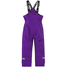 Buy Skogstad Children's Ritz Waterproof Trouser, Purple Online at johnlewis.com