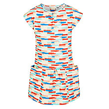 Buy Kin by John Lewis Girls' Brushed Stripe Dress, Multi Online at johnlewis.com