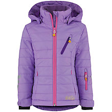 Buy Skogstad Girls' Bergset Primaloft Padded Jacket, Lilac Online at johnlewis.com