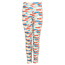 Buy Kin by John Lewis Girls' Brushed Stripe Leggings, Multi Online at johnlewis.com