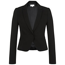 Buy Hobbs Invitation Julietta Jacket, Black Online at johnlewis.com