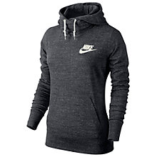 Buy Nike Women's Gym Vintage Hoodie, Grey Online at johnlewis.com