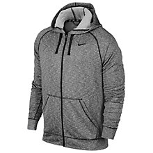 Buy Nike Dri-FIT French Terry Full-Zip Training Hoodie, Cool Grey Online at johnlewis.com