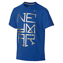 Buy Nike Boy's Hero Logo Neymar T-Shirt Online at johnlewis.com