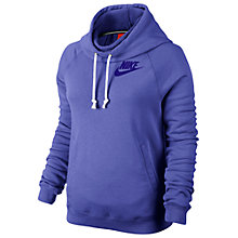 Buy Nike Women's Rally Funnel Pullover Hoodie Online at johnlewis.com