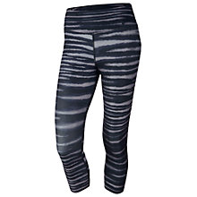 Buy Nike Legend 2.0 Zig Zag Capri Trousers Online at johnlewis.com