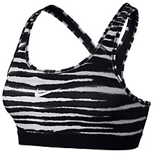 Buy Nike Pro Classic Tiger Sports Bra Online at johnlewis.com