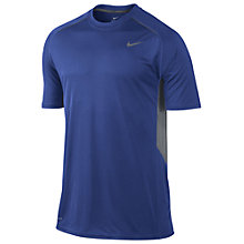 Buy Nike Legacy Crew Neck T-Shirt, Blue Online at johnlewis.com