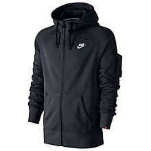 Buy Nike AW77 Fleece Full Zip Training Hoodie Online at johnlewis.com