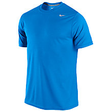Buy Nike Legend Dri-Fit Poly T-Shirt, Photo Blue Online at johnlewis.com