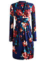 Joules Grace Floral Dress, Navy Floral