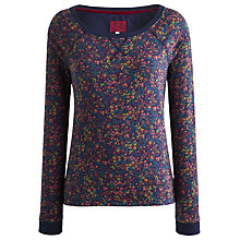 Buy Joules Melling Floral Sweatshirt, Navy Ditsy Online at johnlewis.com