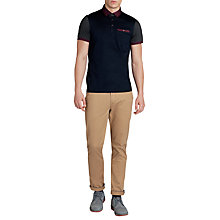 Buy Ted Baker Pinkman Block Colour Polo Shirt Online at johnlewis.com