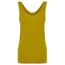 Buy Oasis Trim Vest, Lime Green Online at johnlewis.com