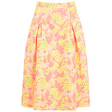 Buy Miss Selfridge Floral Midi Skirt, Multi Online at johnlewis.com