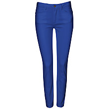 Buy Jaeger Slim Leg 7/8ths Jeans, Colbalt Online at johnlewis.com