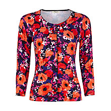 Buy Precis Petite Tropical Floral Cardigan, Multi/Dark Online at johnlewis.com