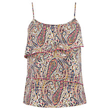 Buy Oasis Paisley Print Cami, Multi Online at johnlewis.com