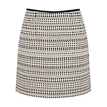 Buy Oasis Tribal Jacquard Mini Skirt, Multi/Black Online at johnlewis.com