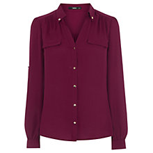 Buy Oasis Simple Chic Shirt Online at johnlewis.com