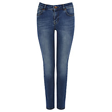 Buy Oasis Vienna Crop Jeans, Denim Online at johnlewis.com