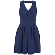 Buy Closet Cross Over Halter Full Dress, Navy Online at johnlewis.com