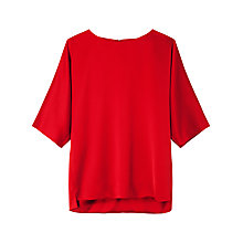 Buy Gérard Darel Shirt, Red Online at johnlewis.com