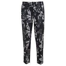 Buy Mint Velvet Avita Print Capri Trousers, Multi Online at johnlewis.com