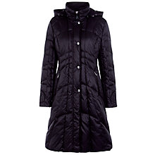 Buy Gerry Weber Long Hooded Coat, Black Online at johnlewis.com
