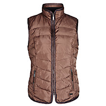 Buy Gerry Weber Lurex Trim Gilet, Whiskey Online at johnlewis.com