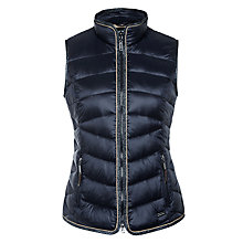Buy Gerry Weber Lurex Trim Gilet, Midnight Online at johnlewis.com