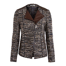 Buy Gerry Weber Boucle Jacket, Blue Brown Online at johnlewis.com