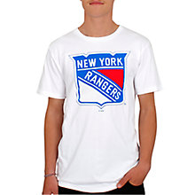 Buy Dedicated New York Rangers T-Shirt, White Online at johnlewis.com