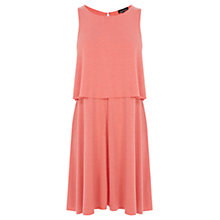 Buy Warehouse Two Layer Dress Online at johnlewis.com
