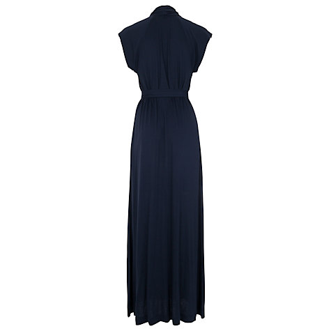 Buy French Connection Meadow Plains Maxi Dress, Utility Blue Online at johnlewis.com