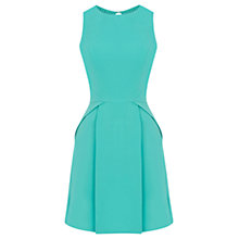 Buy Warehouse Strap Back Dress, Bright Green Online at johnlewis.com