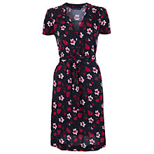 Buy French Connection Bloomsbury Tea Dress, Utility Blue/Warm Crimson Online at johnlewis.com