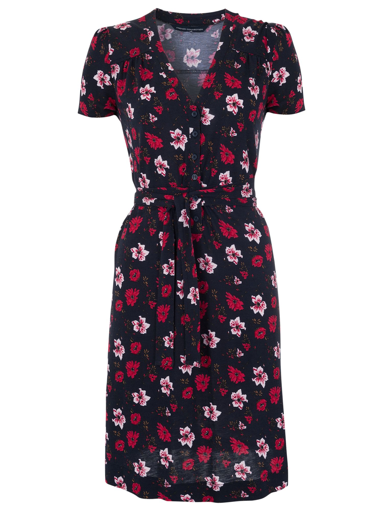 french connection bloomsbury tea dress utility blue/warm crimson, french, connection, bloomsbury, tea, dress, utility, blue/warm, crimson, french connection, 8|10|16|12|14|6, women, womens dresses, 1525298