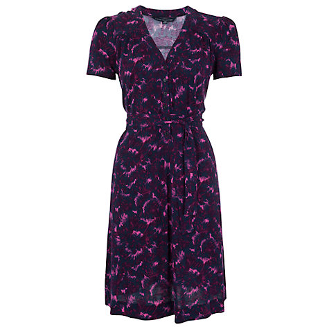 Buy French Connection Rhodeo Flower Tea Dress, Multi Online at johnlewis.com