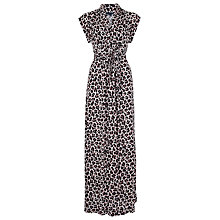 Buy French Connection Anna Jersey Maxi Dress, Powder/Black Online at johnlewis.com